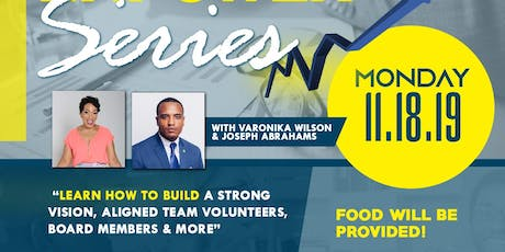 EQUIP, ELEVATE & EMPOWER YOU SERIES : How to build a strong vision, team .. tickets
