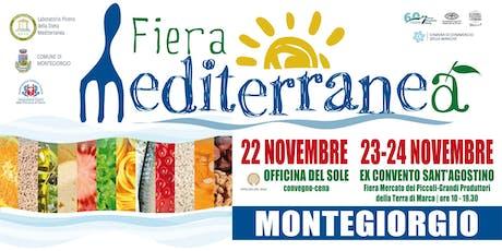 Fiera Mediterranea biglietti