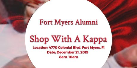 "Inaugural ""Shop with a KAPPA"" tickets"