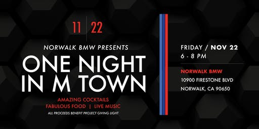 One Night in M Town Presented by McKenna BMW Norwalk