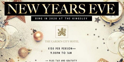 The Garden City Hotel Countdown to 2020