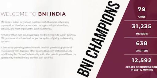 BNI CHAMPIONS Meeting