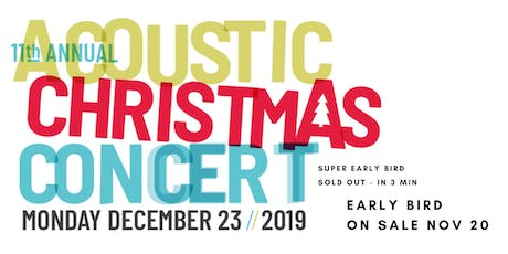 11th annual JR Digs Acoustic Christmas Concert tickets
