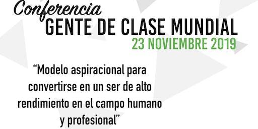 GENTE DE CLASE MUNDIAL