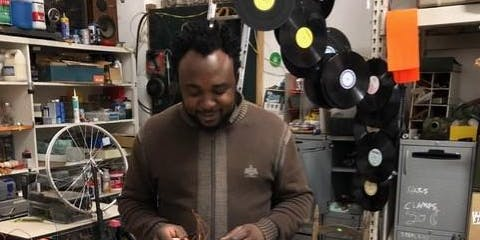 Recycled Materials Sculpture Workshop with Jean Michel Dissake