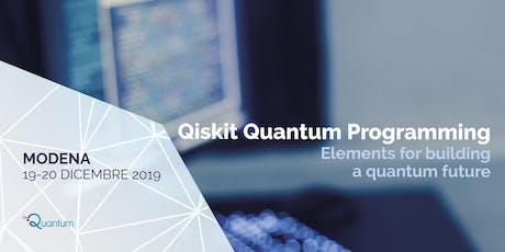 Qiskit Quantum Programming biglietti