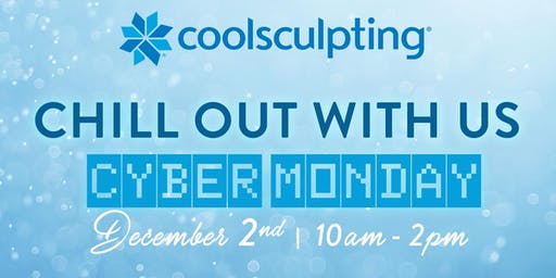 Come Chill with us Cyber Monday! Freeze Fun, Mini-Consults, Raffles & More