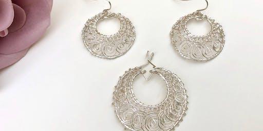 NEW! Double-Hoop Spiral Earrings