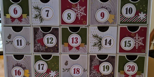 Christmas Countdown Calendar at Donna's Fresh Cafe