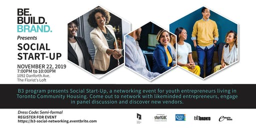 B3 Social Start-Up Networking Event