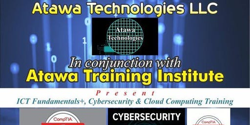 ICT Fundamentals+, Cybersecurity & Cloud Computing Training - Asaba