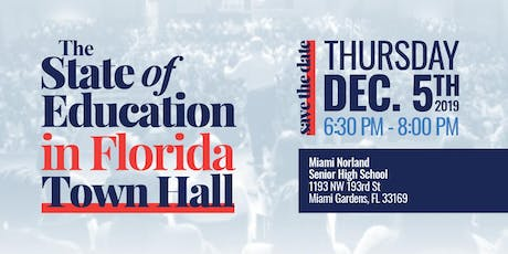 The State of Education in Florida Town Hall tickets