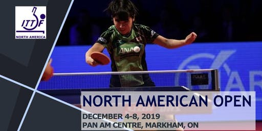 North American Table Tennis Open - Day 3 (Main Draw)