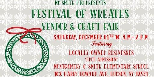 2nd Annual Festival of Wreaths Vendor & Craft Fair