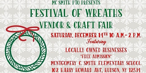 2nd Annual Festival of Wreaths Vendor & Craft Fair