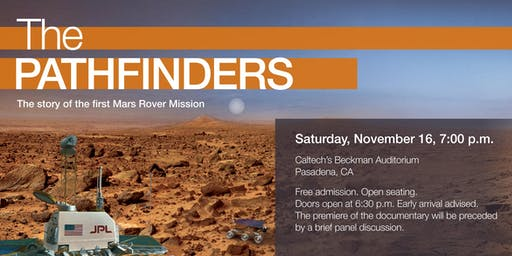 Film Screening- The Pathfinders: The Story of the First Mars Rover Mission