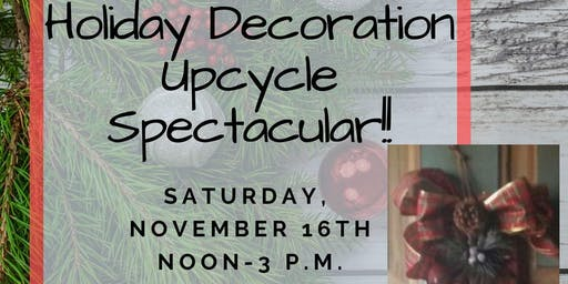 Fan Blade Holiday Decoration Upcycle Spectacular