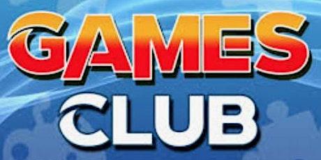 Senior Games Club tickets