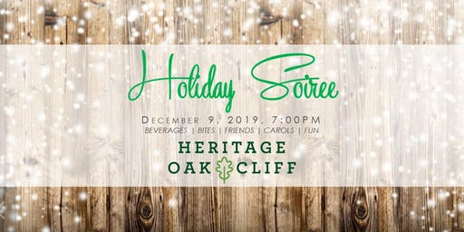 Heritage Oak Cliff Holiday Soiree