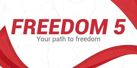 Freedom 5 tickets