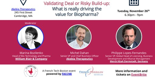 Fireside Chat: What is really driving the value for Biopharma?