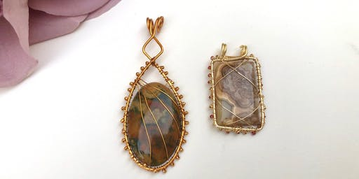 Quick and Easy Wire Bezels
