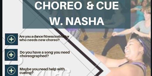 Choreo & Cue with Nasha
