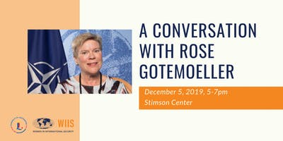 A Conversation with Rose Gottemoeller