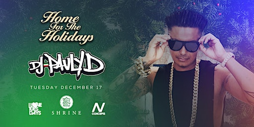I love Tuesdays ft. Pauly D 12.17.19