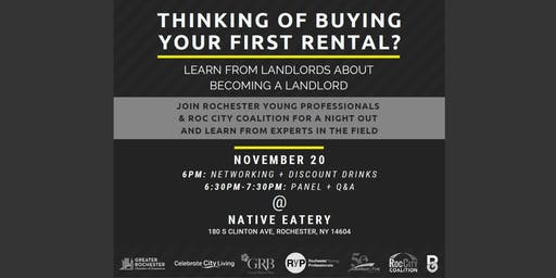 Panel: Becoming a Landlord in Rochester