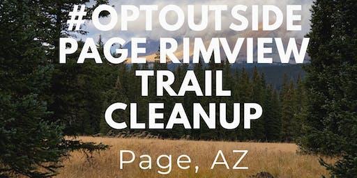 #OPTOUSIDE Page Rimview Trail, Page AZ
