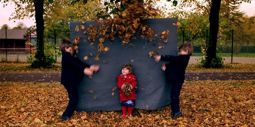 Kids mini Autumn Photo Shoots in the Westend of Glasgow ( Victoria park )