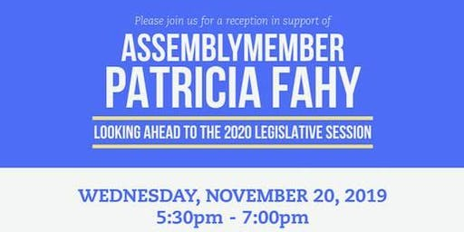 Reception in Support of Assemblywoman Patricia Fahy