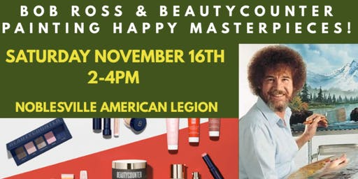Bob Ross And Beautycounter - Happy Masterpieces!