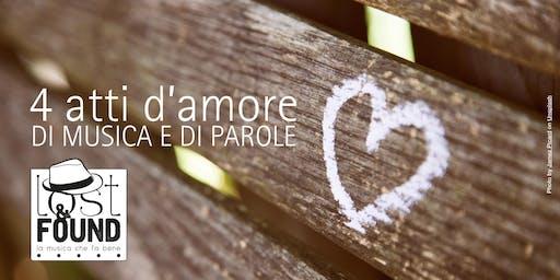 4 atti d'amore