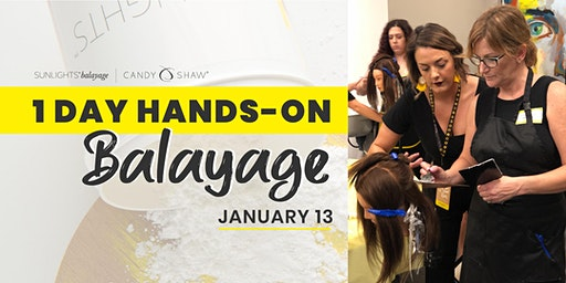 1 Day Balayage Class w/ the Artisan Team