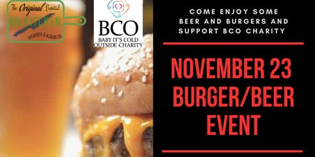 Beer and Burger Event (Supporting Community through BCO Charity) tickets