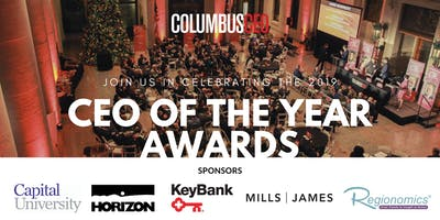 Columbus CEO's CEO of the Year Awards 2019