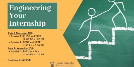 Engineering Your Internship tickets
