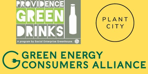November PVD Green Drinks: Green Energy Consumers Alliance at Plant City!