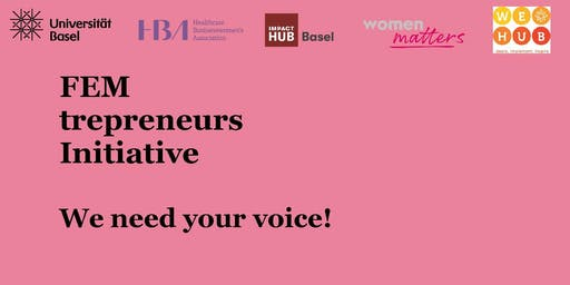 Femtrepreneurs Intiative – We need your voice!