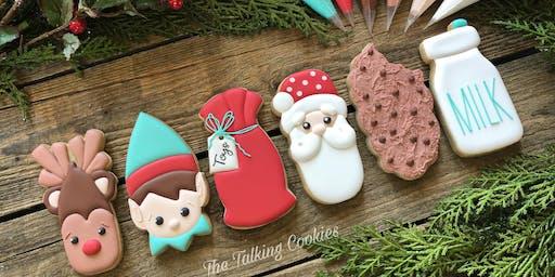 Santa and His Favorite Things - Beginner Cookie Decorating Class
