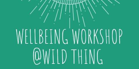 Wellbeing Workshop @Wild Thing