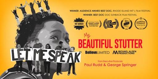 My Beautiful Stutter Film Screening and Panel
