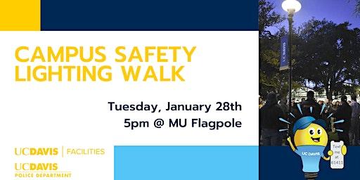 Campus Safety Lighting Walk