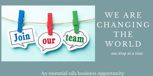 An Essential Oils Business Opportunity Workshop