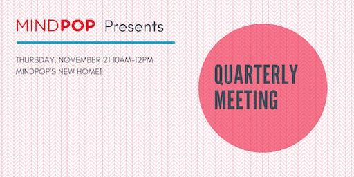 Arts Partner Quarterly Meeting