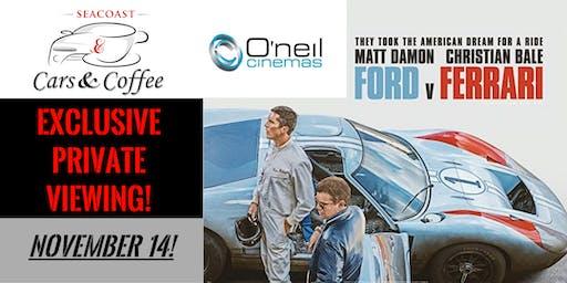 Ford vs Ferrari Movie Premier