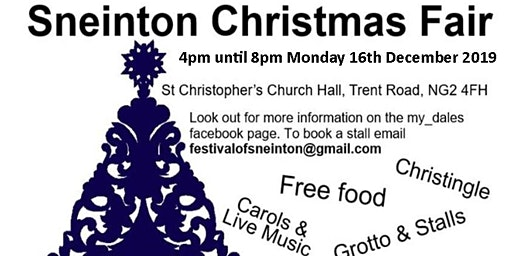 Sneinton Christmas Fair