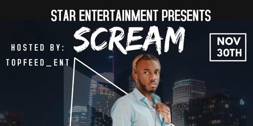 SCREAM FEATURING IQ LIVE FROM LONDON